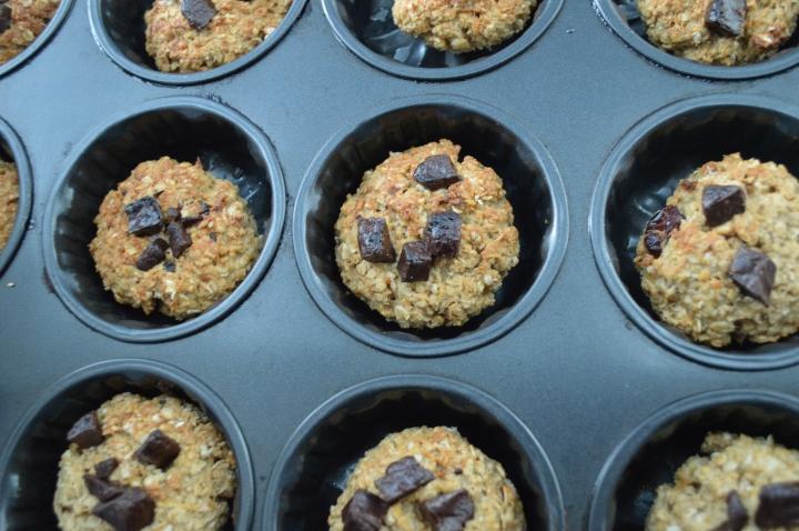easy oatmeal chocolate cookies