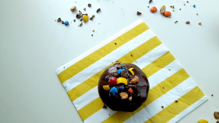 chocolate MnM cupcakes with Chocolate ganache 7