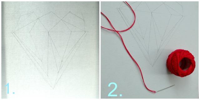 easy DIY sting art Collage 1
