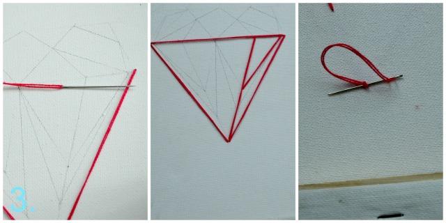 easy DIY sting art Collage 2