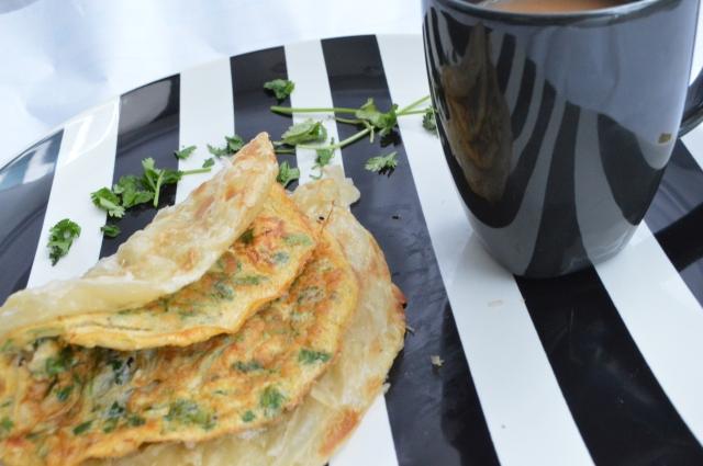 chicken omelette 4
