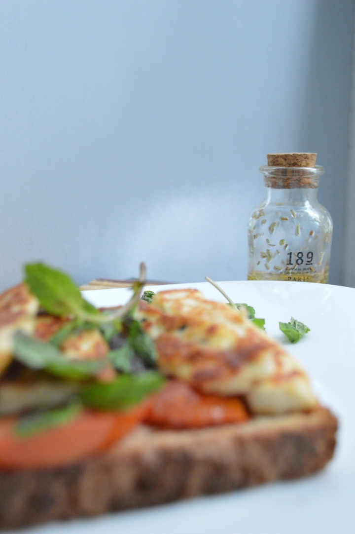 Grilled Halloumi Sandwich 4