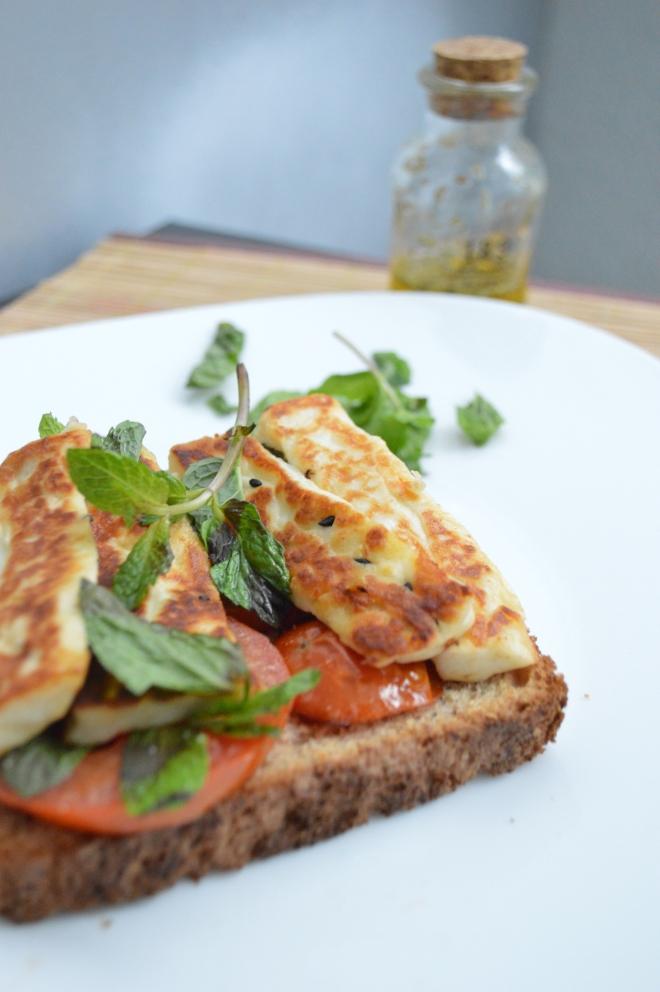 Grilled Halloumi Sandwich 5