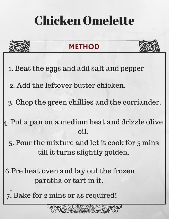 chicken omelette recipe 2