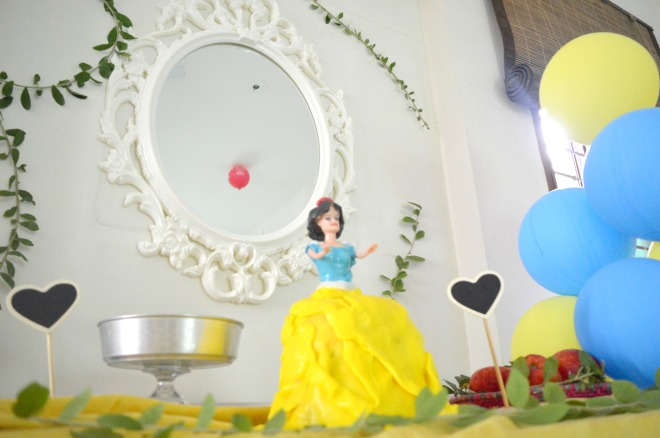 snow white birthday party 2