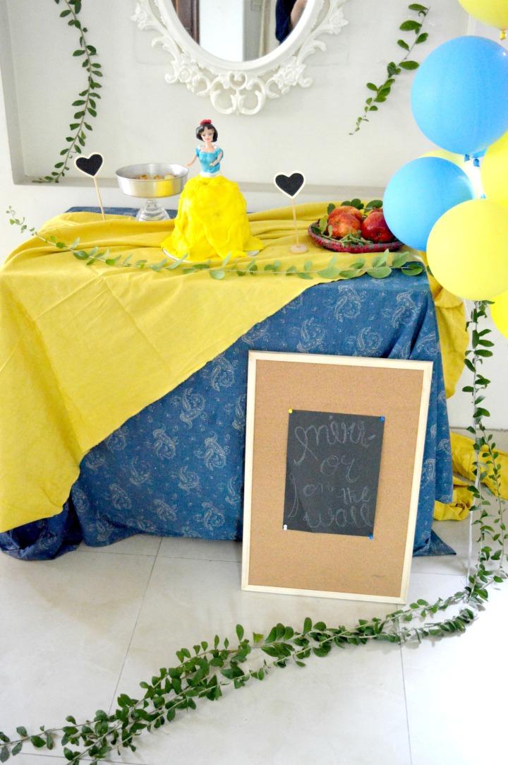 snow white birthday party pic 2