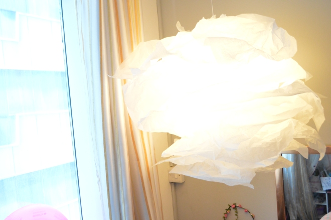 DIY light chandelier 3