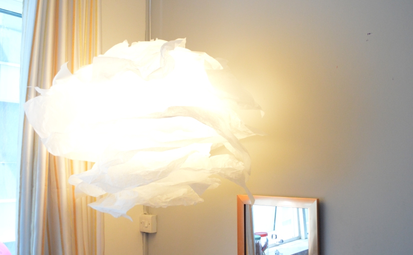 DIY Ikea hack light Chandelier